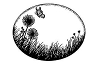 Sue Wilson Designs - Cling Mounted Rubber Stamp - Dandelion Meadow