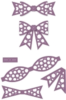 Sue Wilson Designs - Die - Finishing Touches Dotty 3D Itty Bitty Bow