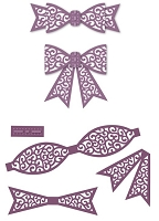 Sue Wilson Designs - Die - Finishing Touches Filigree 3D Itty Bitty Bow