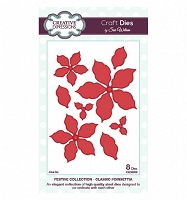 Sue Wilson Designs - Die - Festive Collection - Classic Poinsettia :)