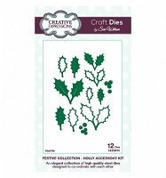 Sue Wilson Designs - Die - Festive Collection - Holly Accessory Kit :)