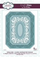 Sue Wilson Designs - Die - Noble Collection -  Classic Adorned Rectangles