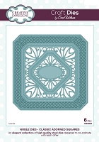 Sue Wilson Designs - Die - Noble Collection - Classic Adorned Squares