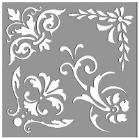 Creative Expressions - Stencil (6x6) - Ornate Elements