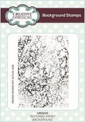 Creative Expressions - Cling Stamp - Textured Frost Background by Lisa Horton