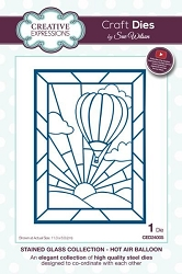 Sue Wilson Designs - Die - Stained Glass Collection - Hot Air Balloon