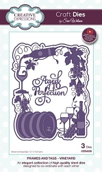 Sue Wilson Designs - Die - Frames & Tags - Vineyard