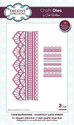 Sue Wilson Designs - Die - Configurations Collection - Chantilly Lace Edger