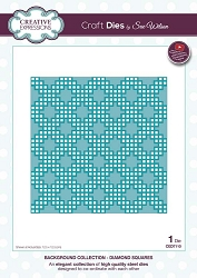 Sue Wilson Designs - Die - Backgrounds Collection - Diamond Squares