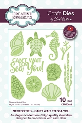 Sue Wilson Designs - Die - Necessities Collection - Can't Wait To Sea You :)