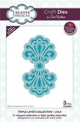 Sue Wilson Designs - Die - Triple Layer Collection - Lola