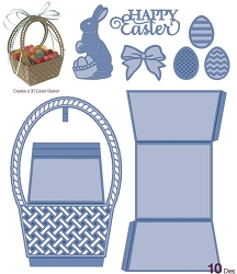 Sue Wilson Designs - Die - Kinetics Collection - Easter Basket