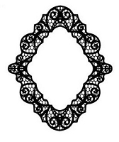 Sue Wilson Designs - Cling Mounted Stamp - Pacific Lace