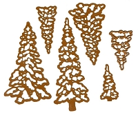 Sue Wilson Designs - Die - Festive Collection - Winter Trees :)