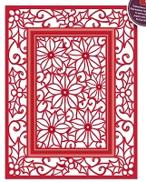 Sue Wilson Designs - Die - Festive Collection - Poinsettia Mini Background
