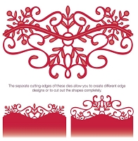 Sue Wilson Designs - Die - Festive Collection - Snowflake Gemini