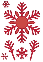 Sue Wilson Designs - Die - Festive Collection - Bold Snowflake Flurry