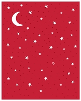 Sue Wilson Designs - Die - Festive Collection - Starry Night Sky