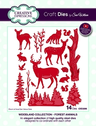 Sue Wilson Designs - Die - Woodland Collection Forest Animals