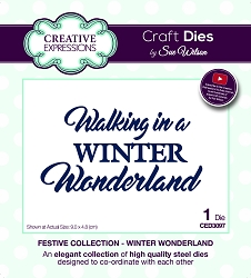 Sue Wilson Designs - Die - Festive Collection Winter Wonderland