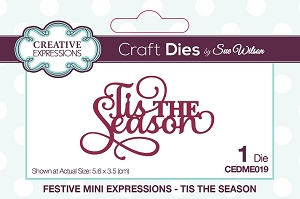 Sue Wilson Designs - Mini Expressions - Tis the Season