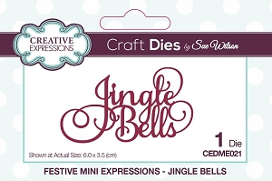 Sue Wilson Designs - Mini Expressions - Jingle Bells