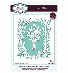 Creative Expressions - Die - Paper Cuts Collection Wildflower Frame