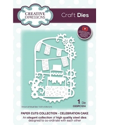 Creative Expressions - Die - Paper Cuts Collection Celebration Cake