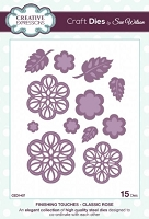 Sue Wilson Designs - Die - Finishing Touches - Classic Rose (Set of 15)