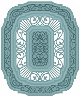 Sue Wilson Designs - Die - Noble Collection - Lavish Accented Design