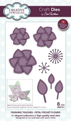 Sue Wilson Designs - Die - Finishing Touches Collection - Petal Pocket Flower