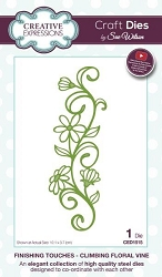 Sue Wilson Designs - Die - Finishing Touches Collection - Climbing Floral Vine