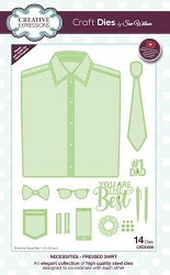 Sue Wilson Designs - Die - Necessities Collection - Pressed Shirt