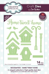 Sue Wilson Designs - Die - Necessities Collection - Home Tweet Home