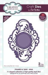 Sue Wilson Designs - Die - Frames & Tags - Nina