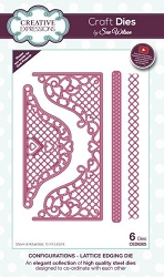 Sue Wilson Designs - Die - Configurations Collection - Lattice Edging