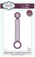 Sue Wilson Designs - Die - Finishing Touches - Scalloped Lattice Buckle Bar