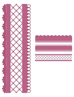 Sue Wilson Designs - Die - Configurations Collection - Trellis Edger