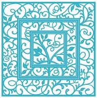 Sue Wilson Designs - Die - Backgrounds Collection - Swirly Vine