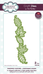 Sue Wilson Designs - Die - Finishing Touches Collection - Cascading Leaves