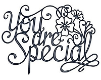 Sue Wilson Designs - Die - Expressions Collection - You Are Special