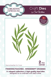 Sue Wilson Designs - Die - Finishing Touches Collection - Windswept Grasses