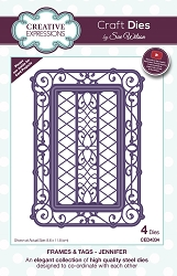 Sue Wilson Designs - Die - Frames & Tags - Jennifer
