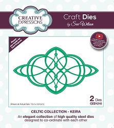 Sue Wilson Designs - Die - Celtic Collection Keira