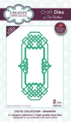 Sue Wilson Designs - Die - Celtic Collection Shannon