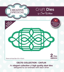Sue Wilson Designs - Die - Celtic Collection Caitlin