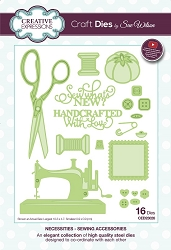 Sue Wilson Designs - Die - Necessities Collection Sewing Accessories :)