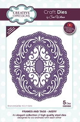 Sue Wilson Designs - Die - Frames & Tags Collection Avery