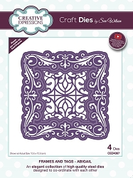 Sue Wilson Designs - Die - Frames & Tags Collection Abigail
