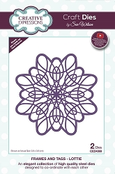 Sue Wilson Designs - Die - Frames & Tags Collection Lottie